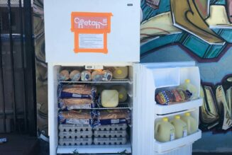 Check the Fridge: Oakland community tackles food insecurity with street corner fridges